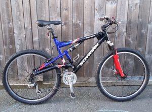 Schwinn 240 DSX Dual Suspension MTB Aluminium Bike – £105