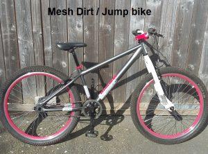Apollo Mesh Dirt Jump Bike