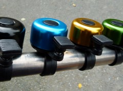 Metal Bicycle Bell  (Assorted Colours)