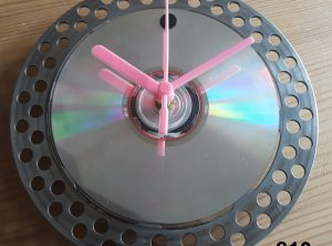 Recycled Bicycle Parts Hand Made Clock