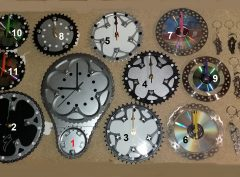 Recycled bicycle part novelty gifts