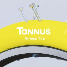 Tannus Aither 11 airless tyre