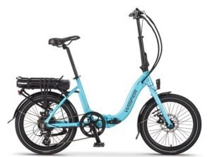 Wisper 806 Torque Folding E-Bike (20″ wheel) Blue in stock